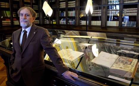 Priceless tomes in Italy hold key to European identity