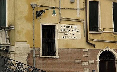 Shakespeare first to mark 500 years of Venice ghetto