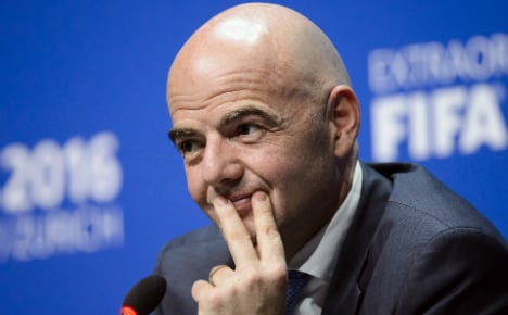 Serie A chairman claims new Fifa president 'bought' votes