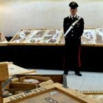 Looted artefacts stashed by British thief restored to Italy