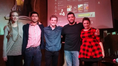 The expats (and one Italian) bringing comedy to Rome