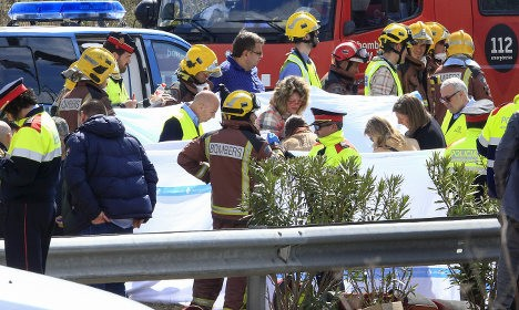 Driver of crash that killed 7 Italians is in critical condition