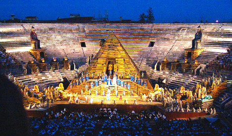 Italian firm's brief asks you to design roof for ancient arena