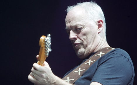 David Gilmour to play Pompeii gigs after 45 years