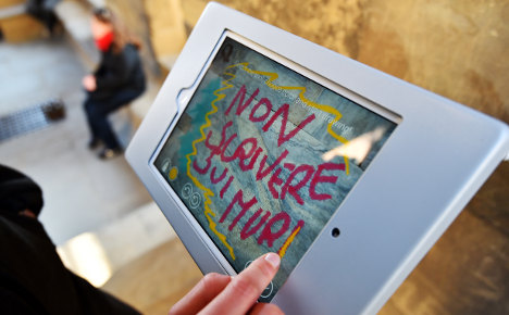 Florence cracks down on graffiti vandals with new app