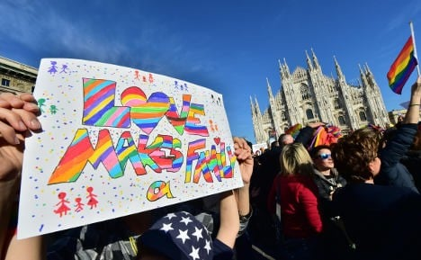 Italy court says lesbian couple can adopt each other's kids