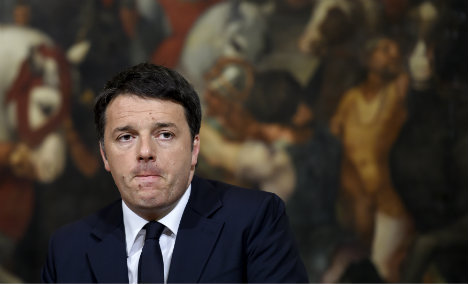 Italy's Renzi under fire as sleaze forces minister out