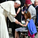 Wish granted: girl meets Pope in Rome before going blind