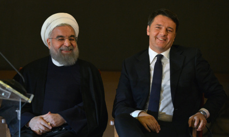 Renzi seeks to revive Italy's economic clout in Iran