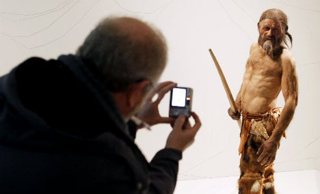 Italy's 5,000-year-old 'iceman' brought to life by 3D printer