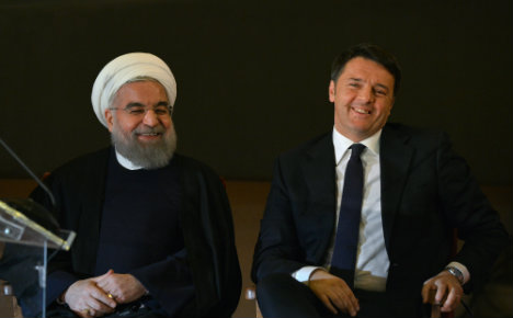 Renzi to visit Iran as Italy leads way in forging trade ties