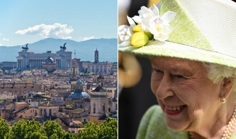 Britain's Queen is 90. That's nothing, Rome is 2,769!