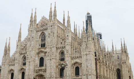 Italy's fashion brands step in to save Milan's cathedral