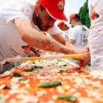 Naples brings pizza record home with 1.8km margherita