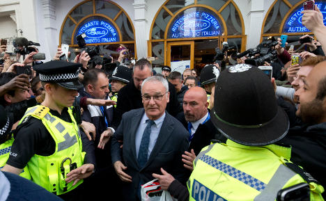 Ranieri is 'King of England', says his 96-year-old mum
