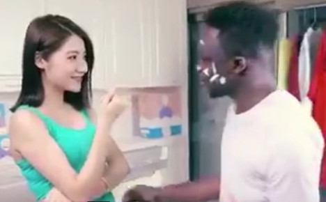 'Racist' Chinese ad causes outrage…but Italy did it first