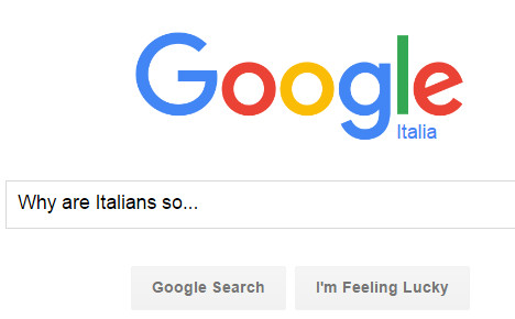 What Google says about Italy (and other EU nations)