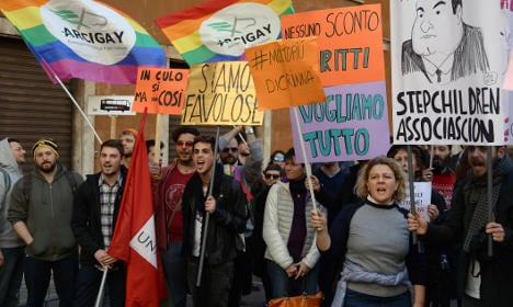 Italy holds confidence vote on civil rights bill