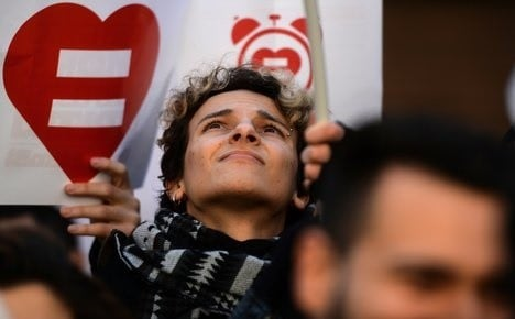Italy's long-awaited gay unions bill ready for final vote