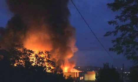 Fourteen people injured in Turin paints factory explosion