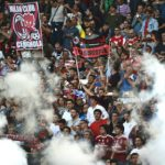 Rampaging fans stab two in bar brawl after Italian Cup final