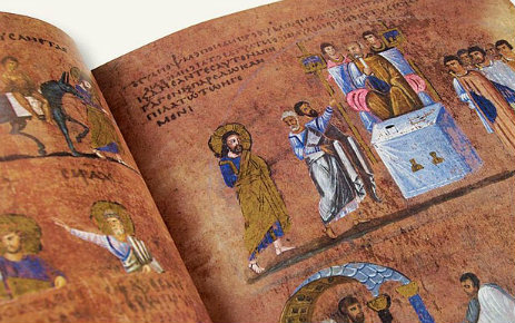 Italy gives world's oldest illustrated book new display