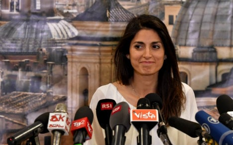 Populist surge puts first woman in charge of Rome