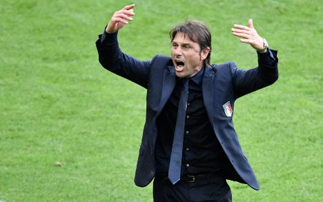 Conte theatrics a boon for Italy, and Chelsea fans