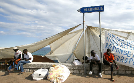 Fresh chaos as Italian border town sees new migrant influx