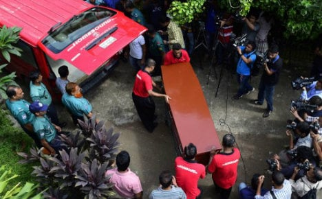 Bangladesh official charged over Italian's murder