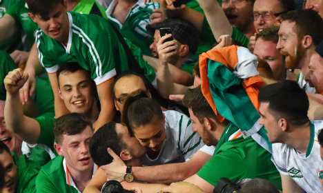 Italy happy with 1-0 loss that sees Irish friends qualify