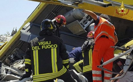 Death toll from Puglia train crash confirmed at 23