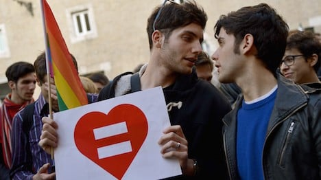 Italy to start performing civil unions from mid-August
