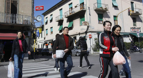 Police raids as tensions mount in Italy's Chinatown