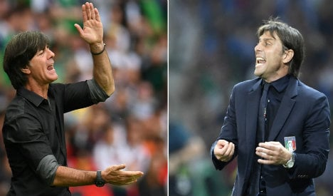 Italy go into Germany clash with psychological advantage