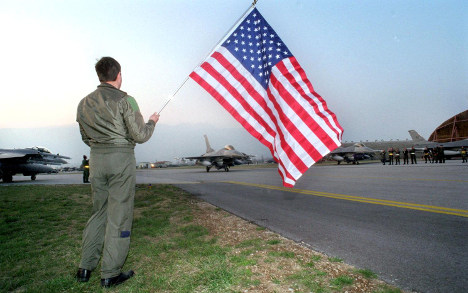 Italian officials call off search for missing American airman