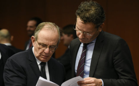 Eurogroup chief plays down Italy's banking woes