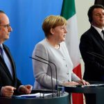 Italy, France and Germany to hold Brexit summit in August