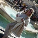 Ekberg wannabe says Trevi dip was a 'homage to Rome'