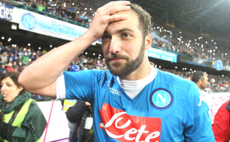 Higuain goes from hero to zero after big-money Juve deal
