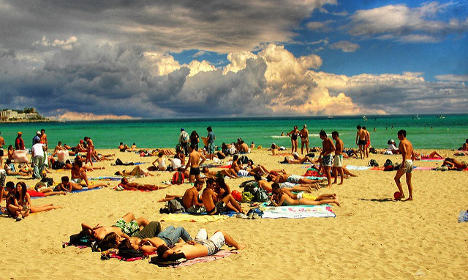 Italy set to sizzle as temperatures reach 40C