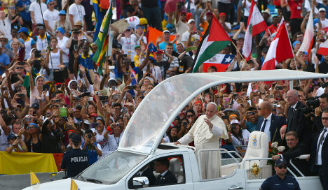 Over 2.5 million pilgrims at pope fest finale in Poland