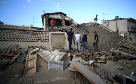 As it happened: Italy earthquake death toll rises to 247