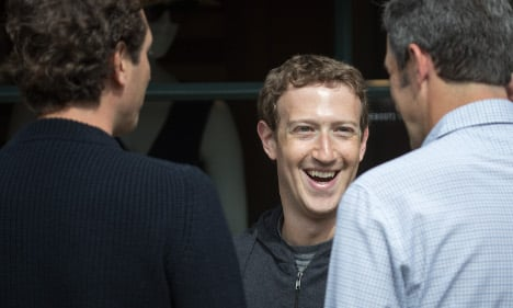 Facebook CEO in Rome for chat with staff…and a jog