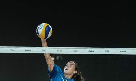 Olympics: Italian beach volley player banned from Rio
