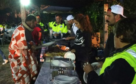 Food the only comfort for Italy's earthquake survivors