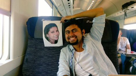 Indian man on honeymoon in Italy...without his wife