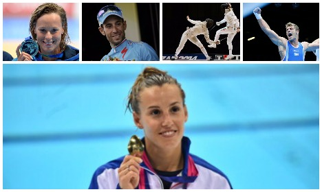 Five Italian athletes going for gold at the Rio Olympics