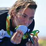 Italy swim star's nod to girlfriend hailed as gay first