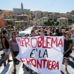 Migrants rejected by France 'to be deported from Italy'